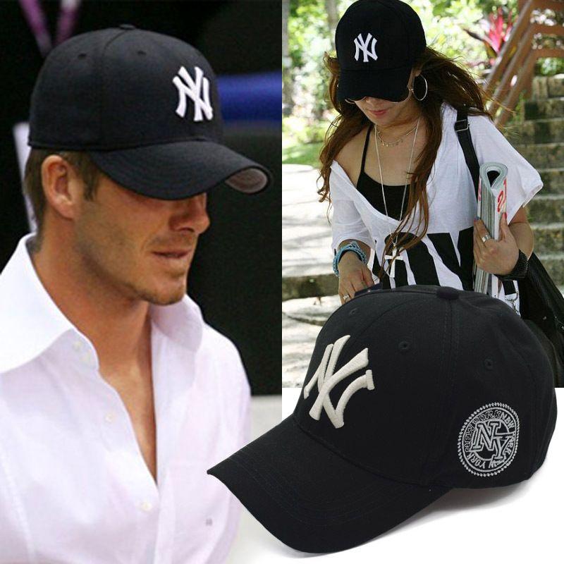 casquettes de baseball de mode casquettes de baseball Snapback NY chapeaux Unisexe Sport Femmes casquette Hommes Casual headware livraison gratuite