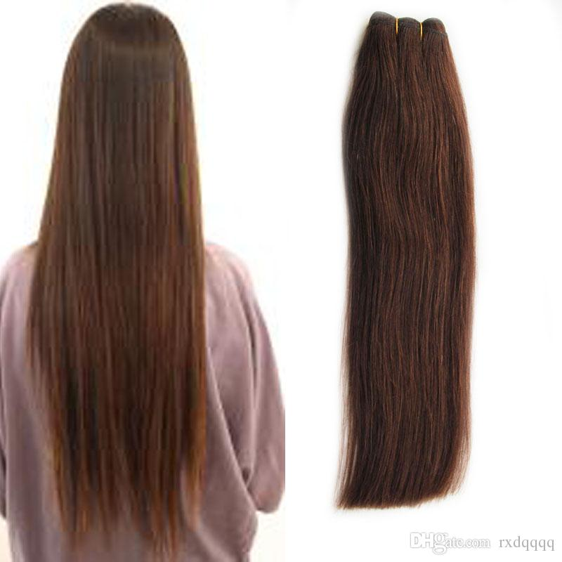 Human Hair Weave Beautiful Princess Hair Straight Weaving Non-remy 100g 1pcs brazilian hair weave bundles