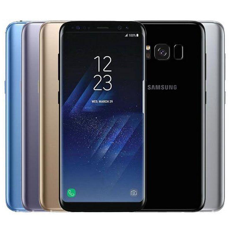 Original Samsung Galaxy S8 Refurbished G950F G950U 5.8 inch Octa Core 4GB RAM 64GB ROM 4G LTE Android Smart Phone Free DHL Shipping 1PC