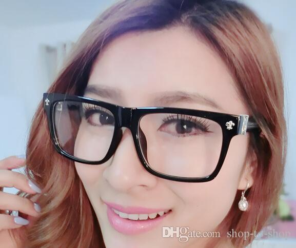 Top fashion designer marque Chrome femme HEY JACKULATE Eyeglass-femme de style rétro modèles homme Argent Vintage Lunettes optique avec étui