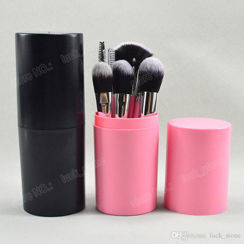 12pcs makeup brushes cup holder safty way dusty fee package 12 function brush for eyeshadow,lipstick,fondation welcome free OEM order