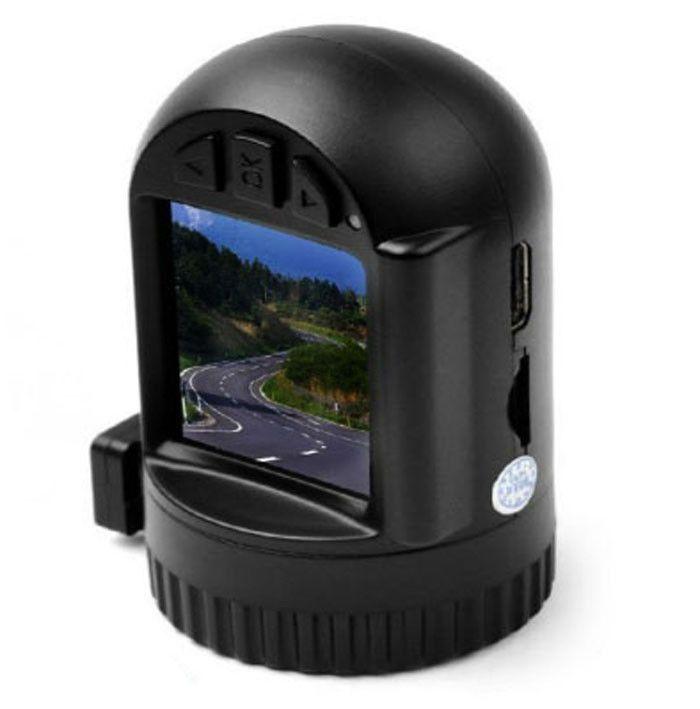 Caméra 1.5 '' Caméscope GPS pour voiture avec écran 1296P HD DVR Dash Auto Camera avec GPS 120 degrés de support d'objectif grand angle 32GB