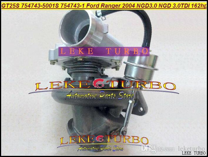 GT25S 754743-5001S 754743-0001 79526 turbocompressor Turbina Turbo Para Ford Ranger 2004 3.0L NGD3.0 NGD 3.0L TDI 162HP