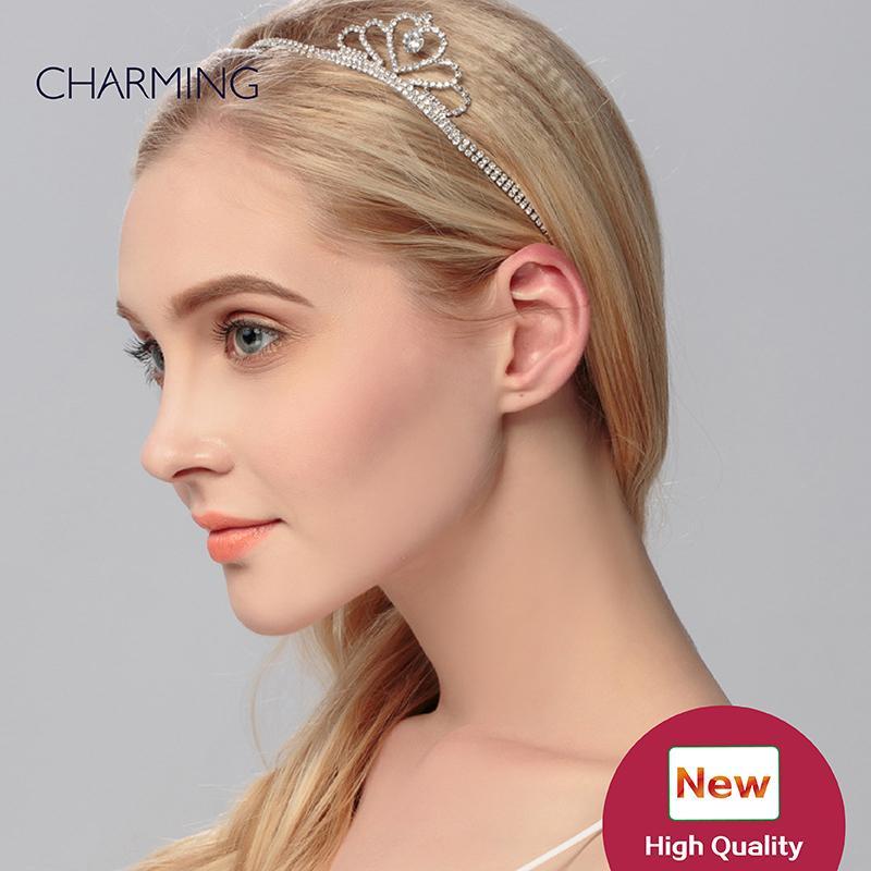 headband tiara crown pretty hair accessories wedding hair accessories bridal tiaras crystals pearls hair accessories for sale wholesale