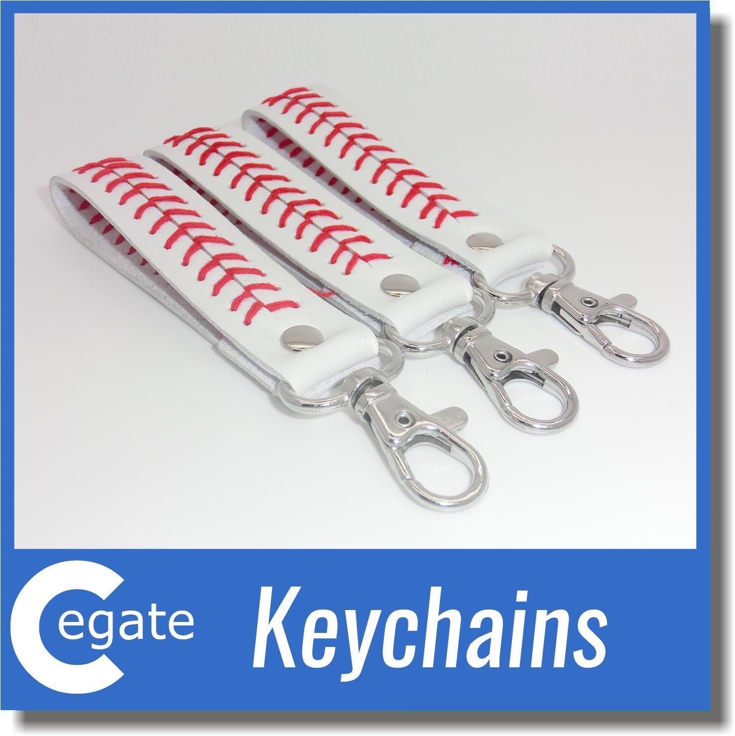 DHL livraison gratuite accessoires de softball, porte-clés de softball, porte-clés de softball
