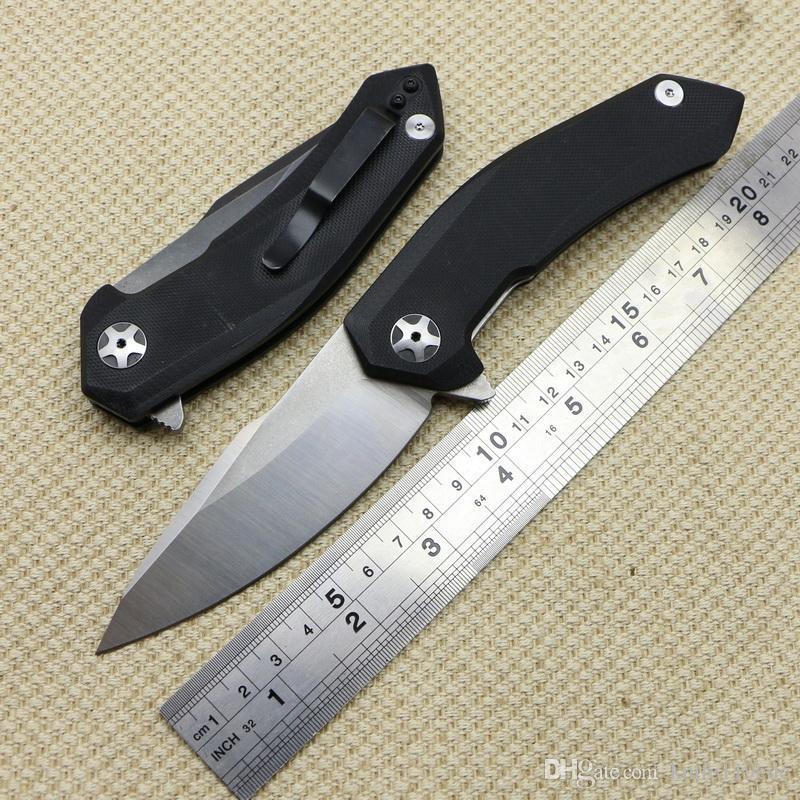 Новый 0095BW 9cr18mov лезвие G10 ручка стальной шарикоподшипник складной нож кемпинг охота открытый выживания карманные ножи EDC инструмент