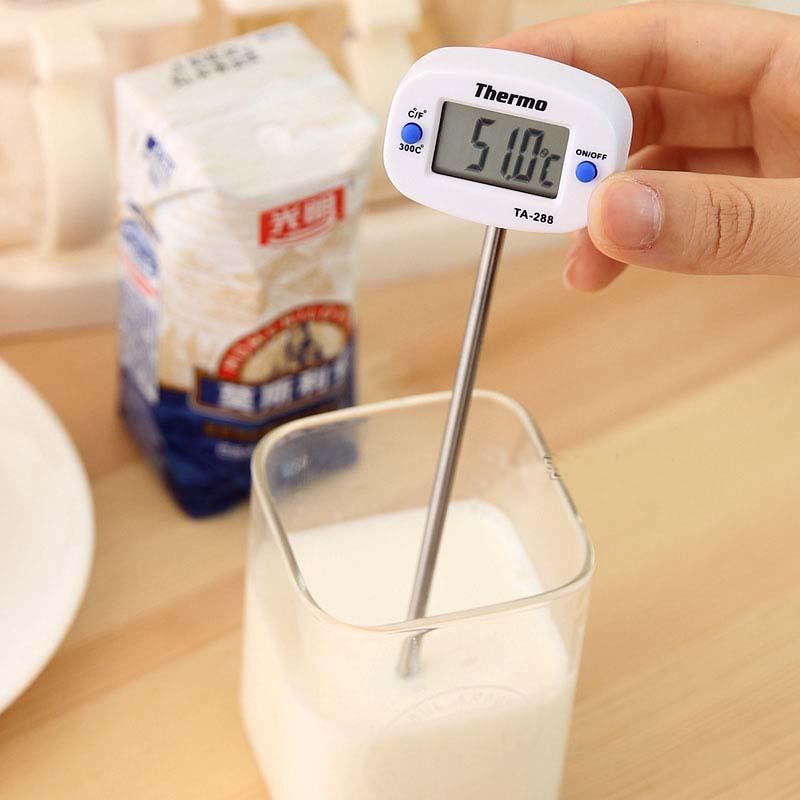Thermomètre électronique alimentaire thermomètre barbecue sonde pour l'épreuve écrite dans la cuisine