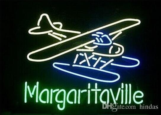 Nuovo HIGH LIFE Neon birra segno Bar Sign reale di vetro della luce al neon della birra Iscriviti piano Jimmy Buffett Margaritaville al neon della birra 24x20 001