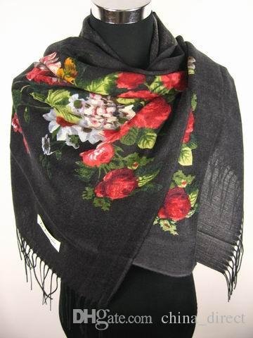 Women Wol Sjaal Sjaal Wrap Neckscarf Sjaal Wrap 12 stks / partij # 1886