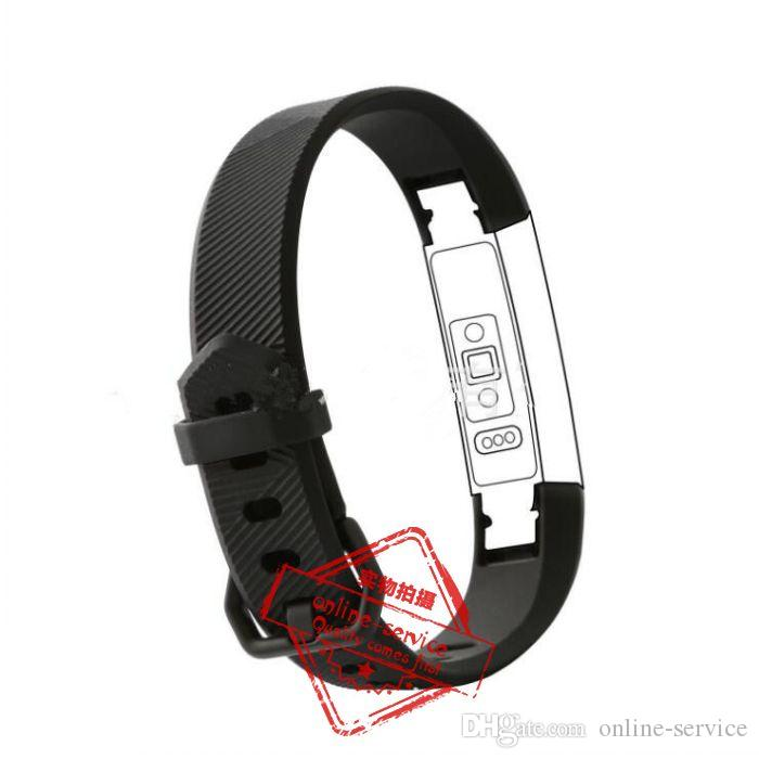 10 Colors NEW Watch CLASP TYPE Fitbit alta HR Band With Clasp Replacement TPU Wrist Strap Wireless Bracelet Wristband With Metal Clasp