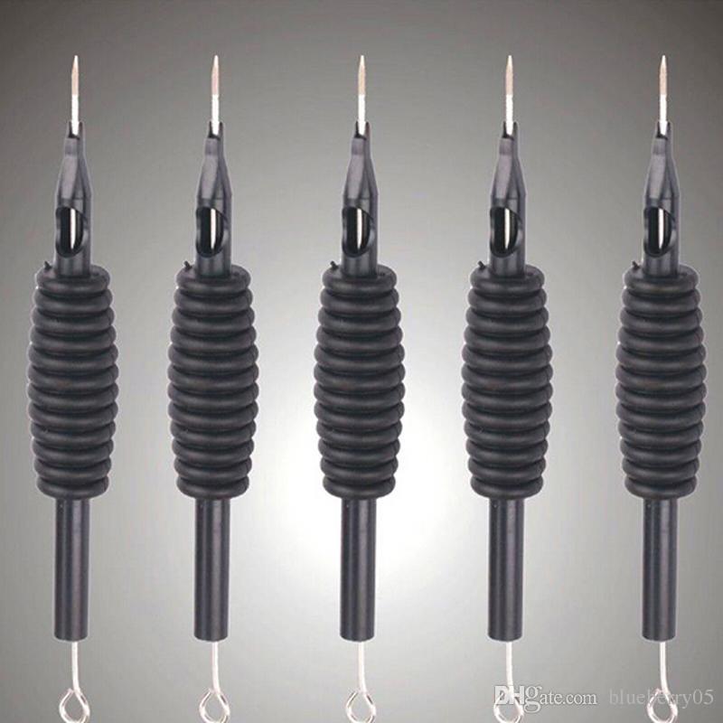 팁 30+ 크기의 도매 U-PICK 일회용 및 튜브 3/4 그립 문신 고품질을위한 30pcs / lot