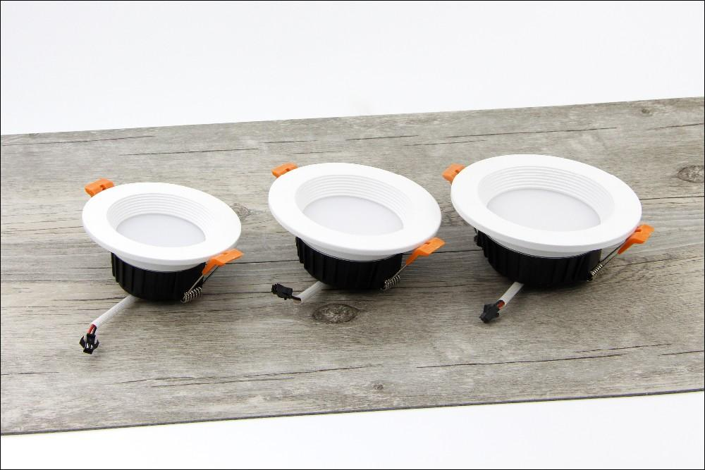 [DBF] AC85-265V LED Down lights 7W 10W 12W LED Downlight Warm whitecold white Led Ceiling Lamp Home Indoor Lighting bulb (4)