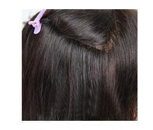 skin tape hair step one