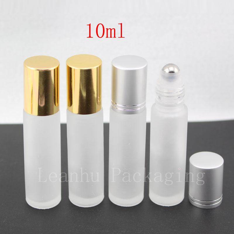 10ml frosted glass bottle with roller (1)