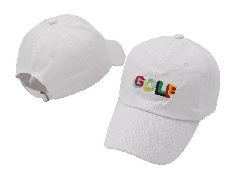 Toptan Tyler Creator Golf Şapka Nakış Snapback Caps Beyzbol Şapka Erkekler ve Kadınlar için Ajustable Baba Şapka