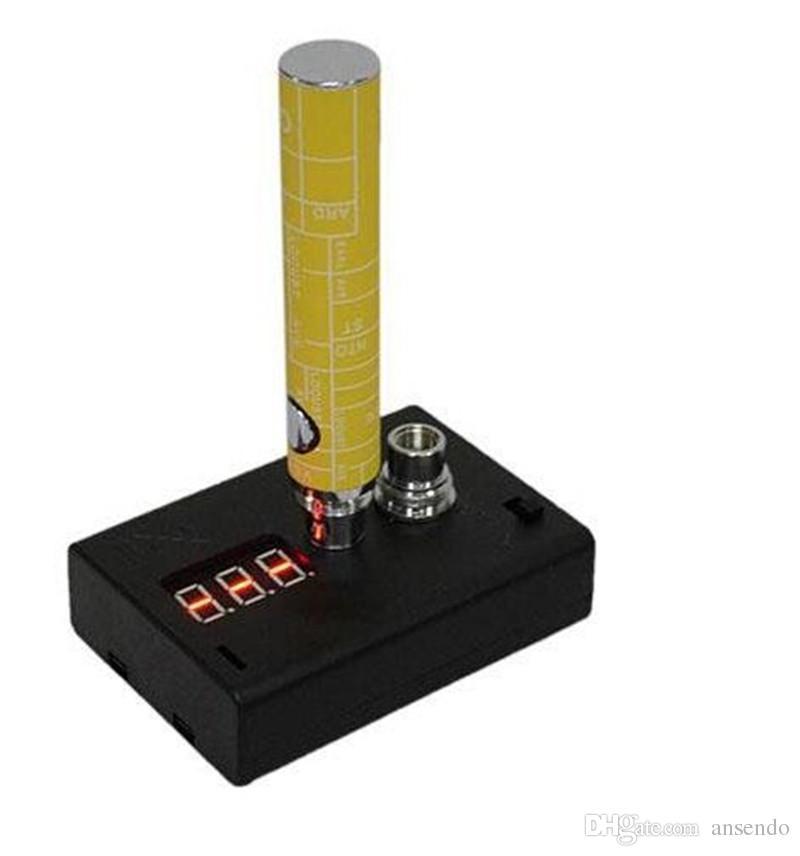 Vape e-cigarette Resistance Tester (ohmio) Medidor 510 roscado para cualquier atomizador vaporizador y batería Cigarette Accessories
