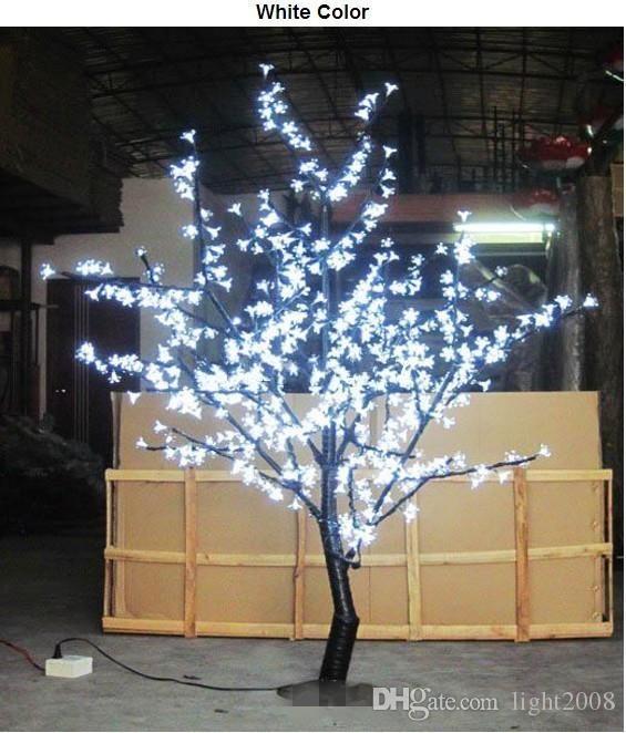 الجملة الصمام شجرة أزهار الكرز الخفيفة 480pcs الصمام المصابيح 1.5M الطول 110/220VAC سبعة ألوان للخيار حرية الملاحة