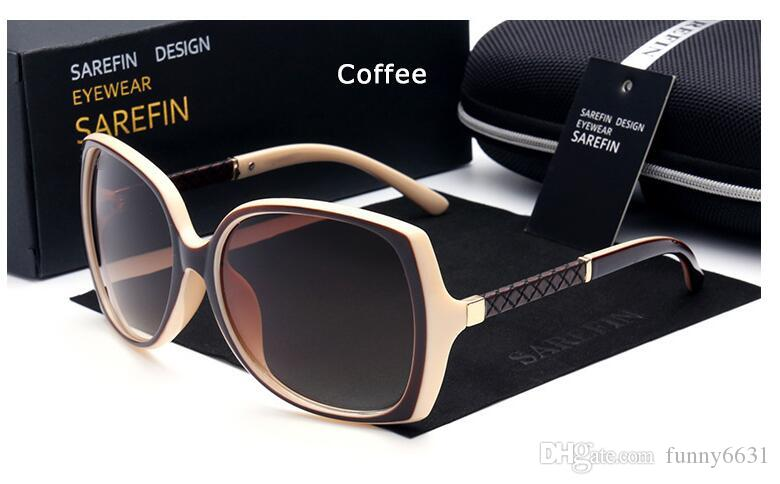 Señoras de la marca de verano uv400 Moda mujer Ciclismo gafas Clásico deporte al aire libre Gafas de sol Eyewear GIRL Beach Sun Glass 7colors envío gratis