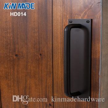 KINMADE Фабрика площади плиты Урожай Barn Door Handle Промышленные студии Деревянные двери Тяговое