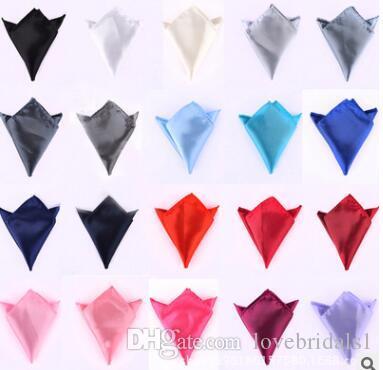 حار بيع ربطة عنق للرجال الدعاوى جيب المناشف جيب منديل بلون صغير مربع الزفاف مأدبة التعادل حرية الملاحة