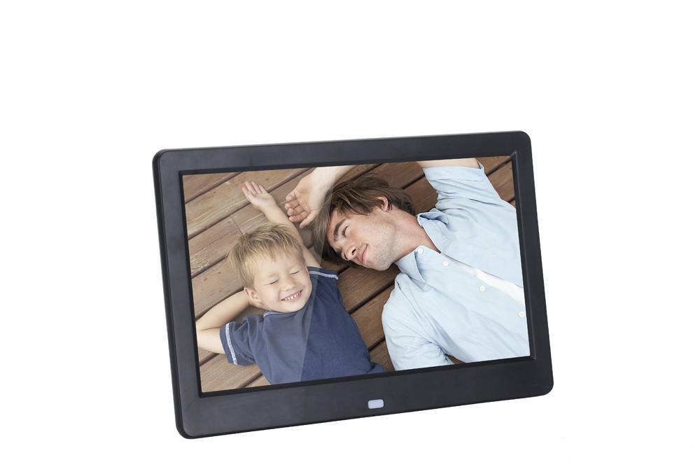 2018 10 Inch Touch Screen Digital Photo Frame Wifi With 1024x600