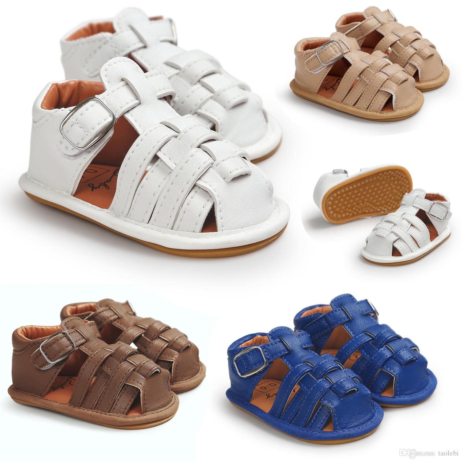3 pairs/lot(many styles for choose) Summer prewalker shoes Baby boy sandals fashion baby shoes Infant boys sandals