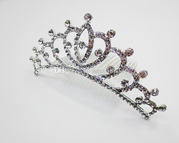 Изысканные украшения для волос элегантный свадебный Алмаз Корона Hairband классический ретро украшения для волос дети принцесса изысканный головной убор шт. / лот