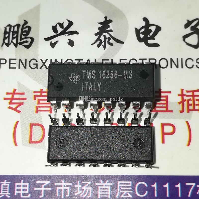 TMS16256-MS. TMS16256MS. TMS16256, Ti Microelectronics 집적 회로 IC, 듀얼 인라인 16 핀 딥 플라스틱 패키지 칩, PDIP16
