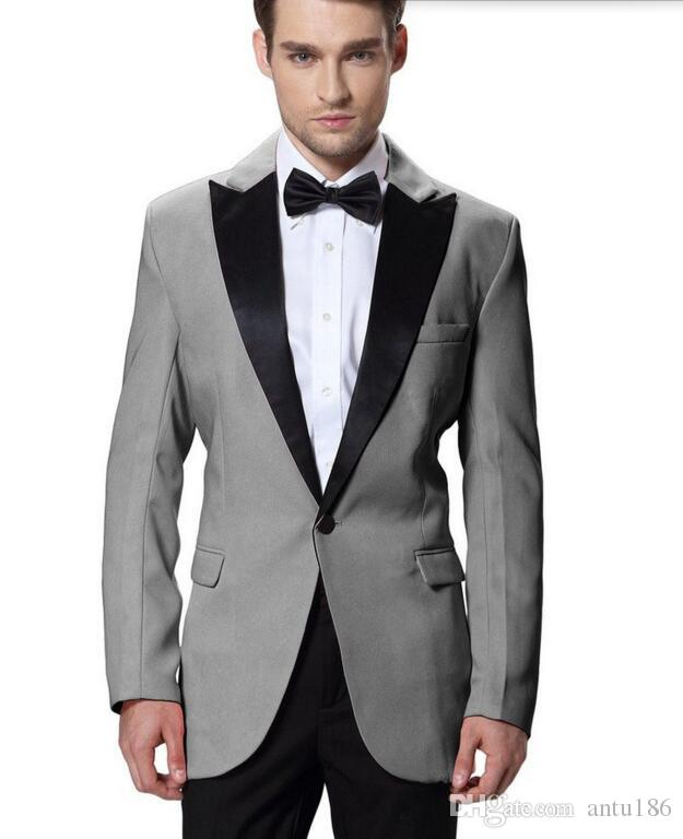 Yeni tasarım erkekler Damat Smokin takım elbise yüksek kalite Erkekler Düğün İş erkekler için Takım Elbise Damat takım elbise suits (ceket + pantolon)