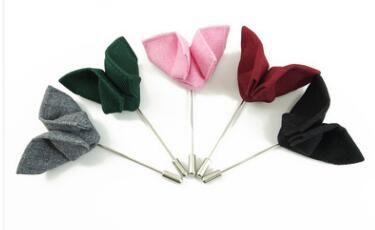 Spille a farfalla in tessuto spille handmake boutonniere spilla spille corpetti accessori per uomo spille a fiore per regali festa di nozze