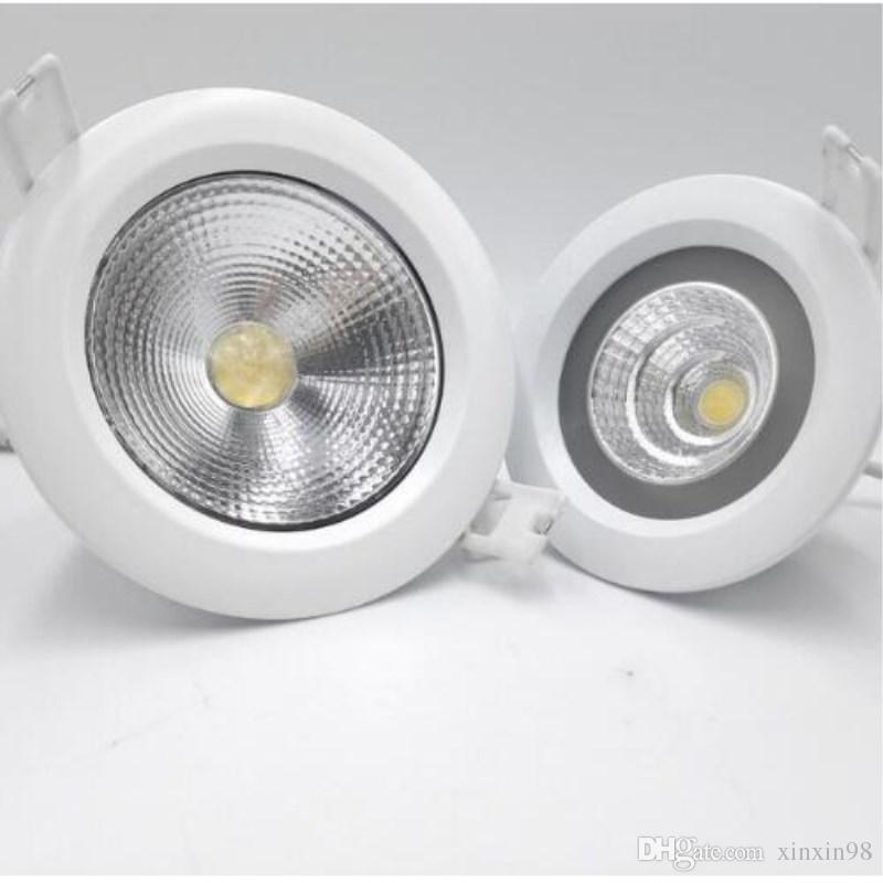 Fabrik-Großhandel 15W Wasserdichtes IP 65 Einbauleuchten LED Einbauleuchte LED-Decke unten Lampe 2800k-7000k AC85-265VFree Versand