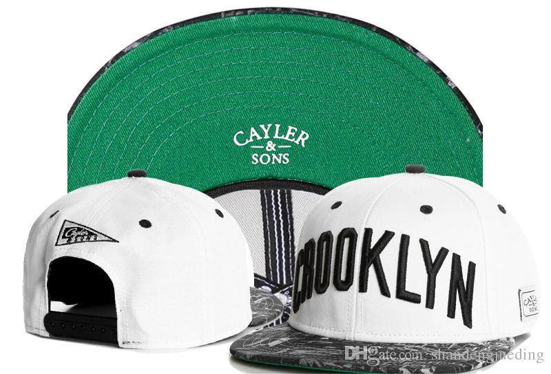 CAYLER SONS 패션 캡스 스냅 캐주얼 모자 아웃 도어 모자를 쓰고 있죠 스냅 백 여름 모자 조정 가능한 스냅 백 플랫 캡