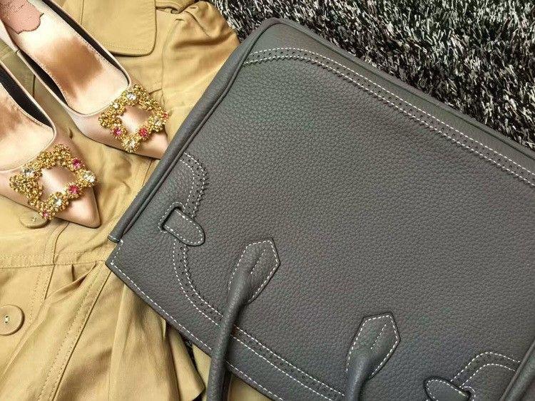 2016 Luxury H Handbag Women\`s Litchi Cowhide Messenger Bag Genuine Leather Famous Designer Shoulder Crossbody Totes Ladies Bolsa (22)