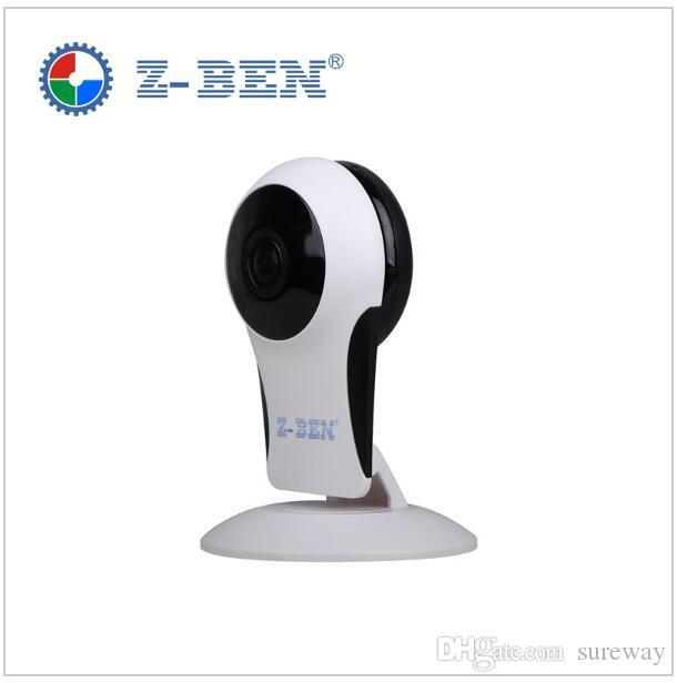 Z-BEN FULL HD 1080P Wifi IP كاميرا بانورامية 180 درجة عرض للرؤية الليلية البسيطة لاسلكي مراقبة الطفل 2.0MP الدوائر التلفزيونية المغلقة الذكية الأمن P2P