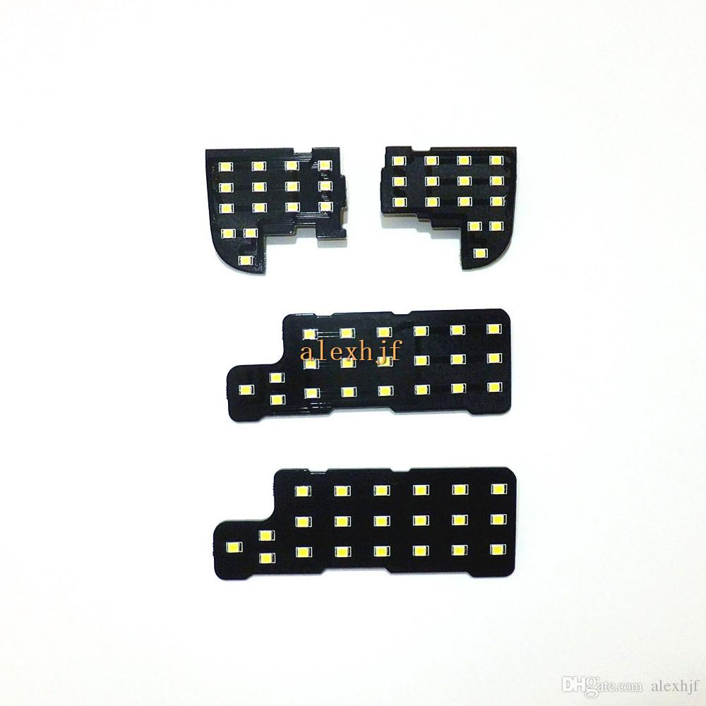 혼다 CR-V CRV 용 7 월 킹 LED 자동차 인테리어 독서 등 케이스 2007 ~ 09, 6000K 72LEDs 2835SMD, 4 개 / 세트, 고휘도