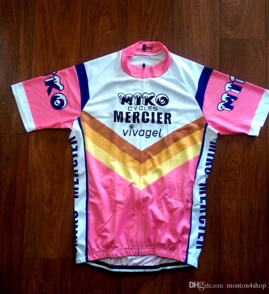 Miko Mercier Vivagel Cycling Jersey Bib Shorts SETS Pro Clothing MTB