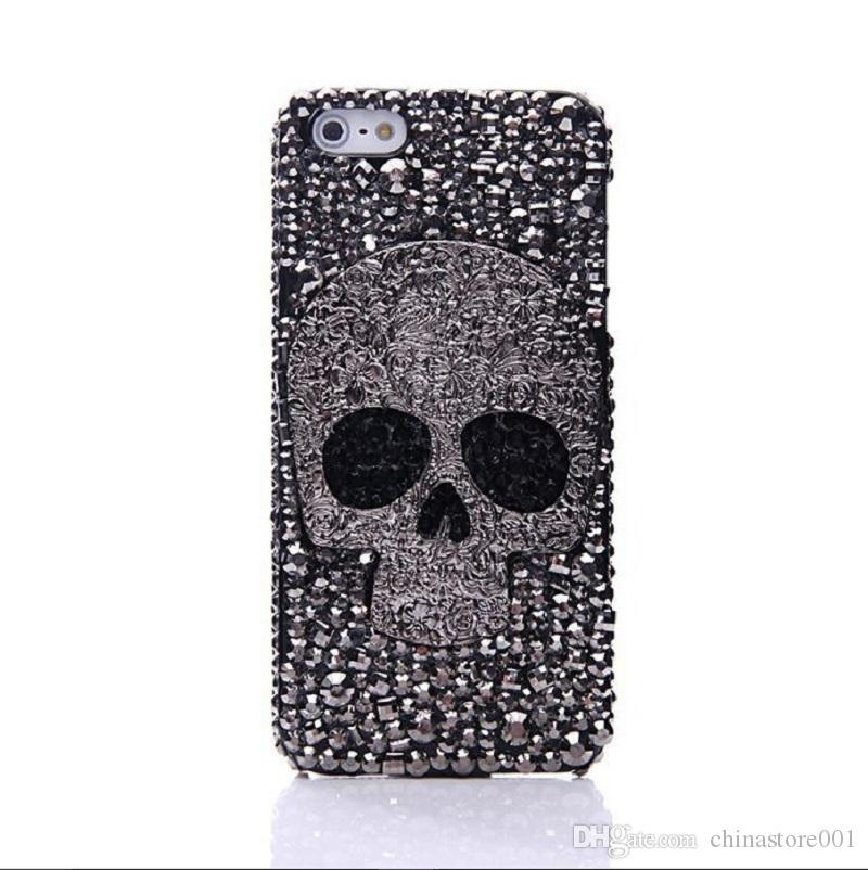 meet 6954e a8154 Fashion Samsung Cell Phone Cases Best Skull And Crossbones Phone Cover Case  For Iphone Samsung S7 S6 Edge Ballistic Cell Phone Case Bedazzled Phone ...