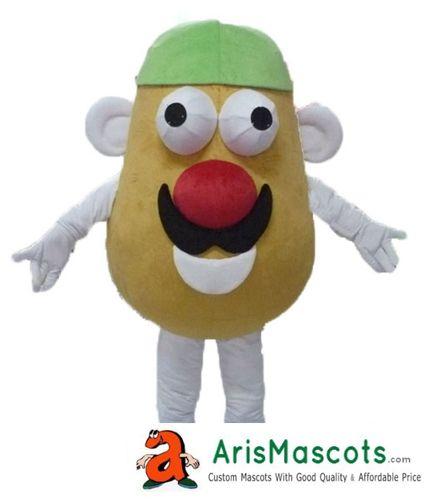 100% real fotos mascota Mr Potato traje da mascote publicidade pelúcia mascota outfit Planta mascotes cor aceitar a mudança de cor gota transporte