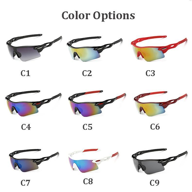 Nouveau Marque Designer lunettes de sport Cyclisme Conduite Full Frame Lunettes de soleil de luxe pour hommes lunettes classique pour les hommes de lunettes