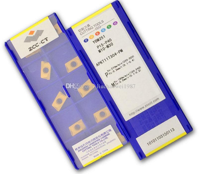 Wkład frezowania CNC, APKT11T304-PM YBM251