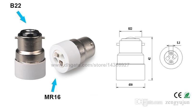 E14 Edison screw  to G4 MR11 MR16 Adaptor