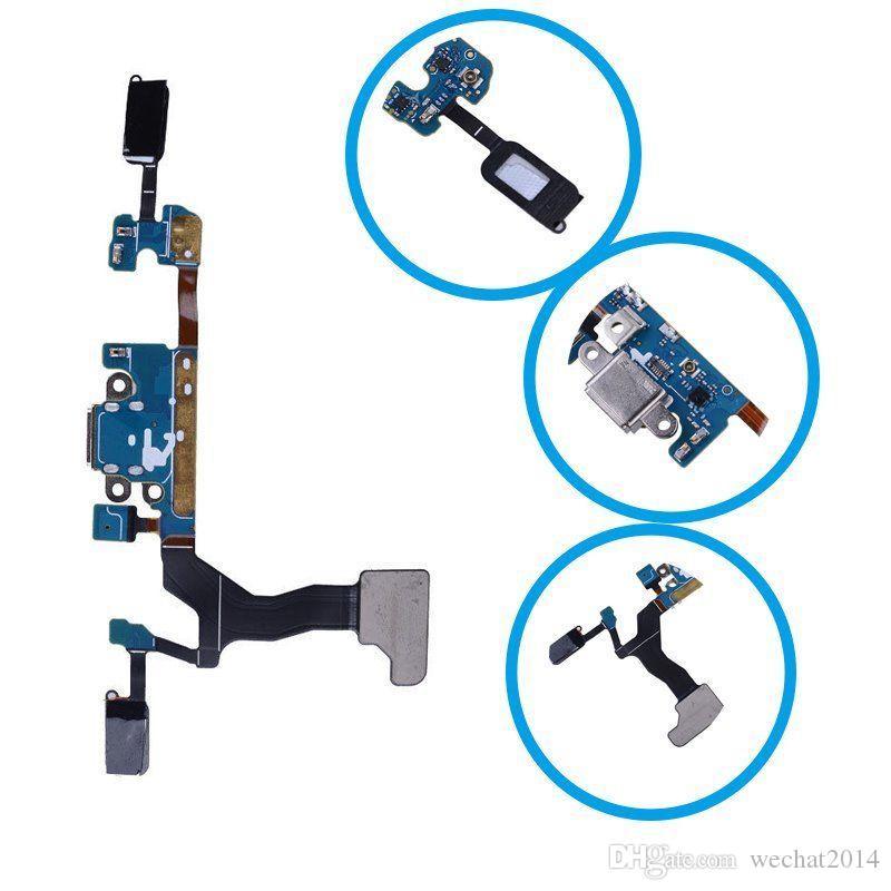 Il cavo della flessione 20PCS OEM di carico del caricatore Dock porto USB per Samsung Galaxy S7 bordo G935A G935V G935F DHL