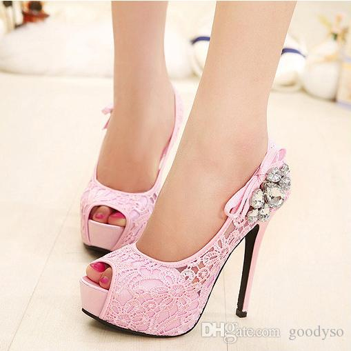 cost charm multiple colors super popular 2017 Fashion Lady New Design Summer High Heel Pump Shoes Latest High Heel  Shoes For Girls Women 170512B3 Black Shoes Nude Shoes From Goodyso, $23.13|  ...