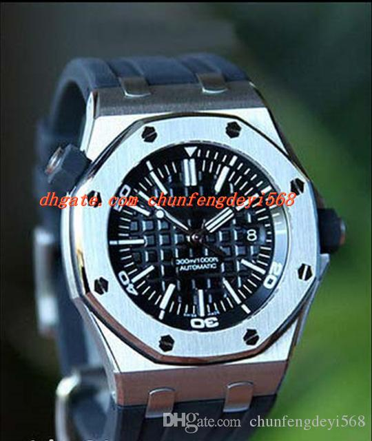 Luxury Wristwatch With Box Sapphire 42MM Automatic Diver Mens Watch MEN Watch Stainless Steel Wrist Watches