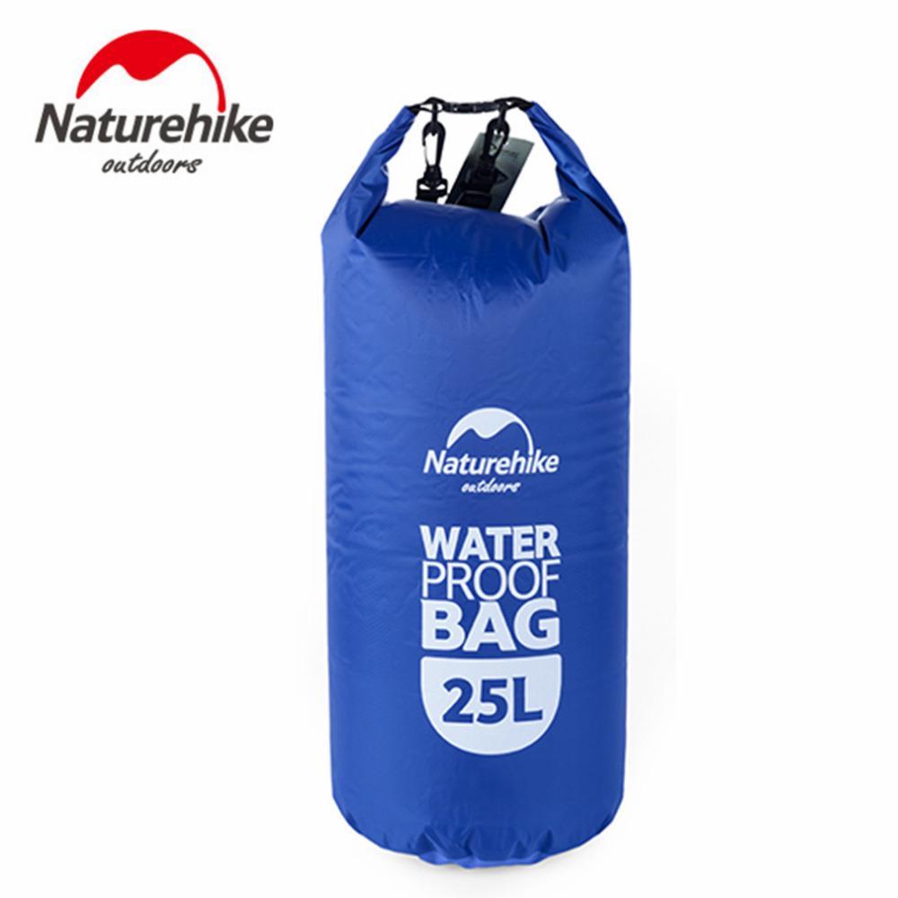 Naturehike 25L Ultraleve Durável Muitifuncional Viagem Ao Ar Livre Rafting Camping Caminhadas Natação Saco Impermeável Saco Seco
