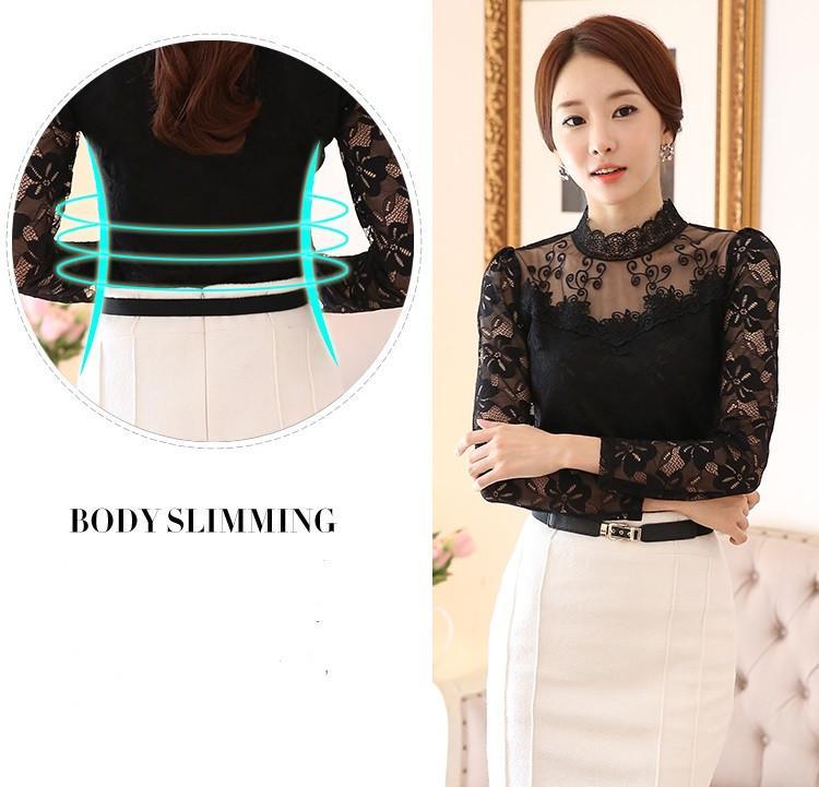 lace blouse 506