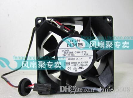 Оригинал NMB 3615rl-05W-B79 9 см 9238 24V 1.47 A 3 провода инвертор, вентилятор водонепроницаемый