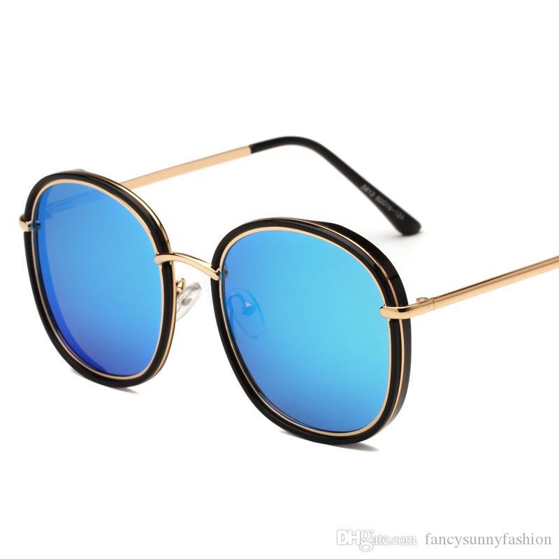 designer polarized sunglasses UV protection shades sun glasses for women and men TAC Polarizing lens PC and metal frame fashion blue pink