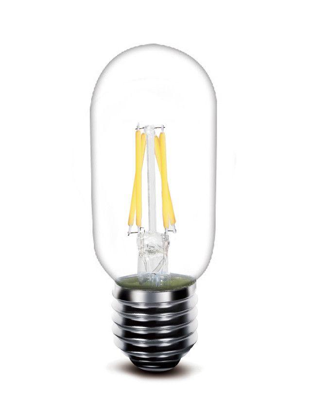 2017 Последний продукт Filicame LED лампочки 2W 4W T45 110V 240V 2700K 6000K двойная нить лампочки