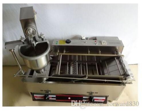 상업 자동 GAS 전기 도넛 만드는 기계 도넛 튀김 CE 승인 110V 또는 220V 빠른 배송